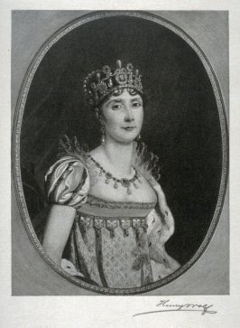 The Empress Josephine in Royal Robes and Crown