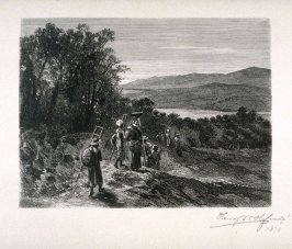Laborers going to the coffee-fields