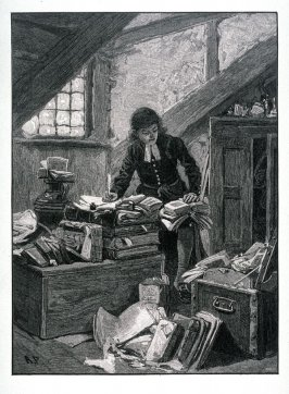 Chatterton in his Garrett