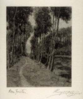 A Path to Longpre (French Landscape)