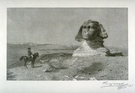 Napoleon Before the Sphinx