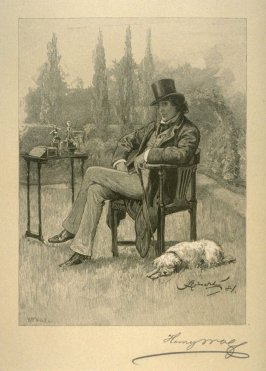 Henry Irving at Home