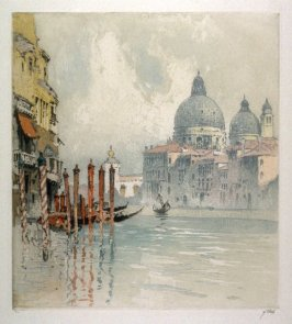 Towards Evening on the Grand Canal, Venice