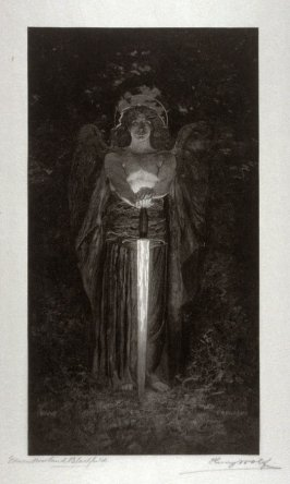 The Angel with the Flaming Sword