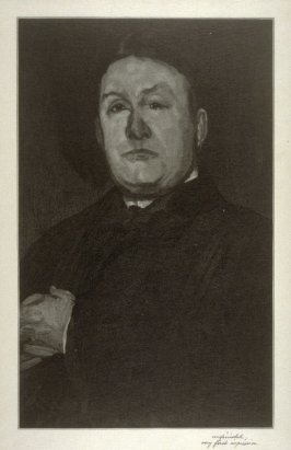 Whistler's Portrait of Cartfield (trial proof)