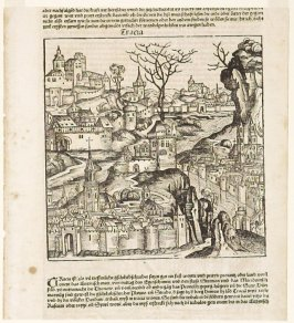 The City of Thrace, folio 272 (recto) from Hartmann Schedel, Nuremberg Chronicle (Die Schedelsche Weltchronik) (Nuremberg: Anton Koberger, 1493)