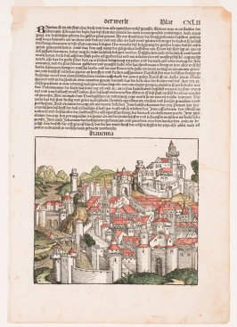 View of Ravenna, from Hartmann Schedel, Nuremberg Chronicle (Liber chronicarum) (Nuremberg: Anton Koberger, 1493)