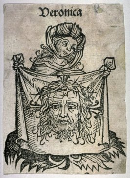 St Veronica with the Sudarium, from the Nuremberg Chronicle