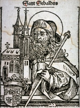 Saint Sebaldus, from the Nuremberg Chronicle