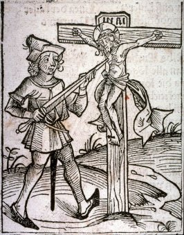 [Crucifixtion], from the Nuremberg Chronicle