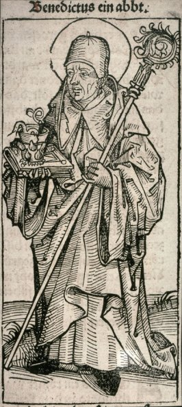 [Benedictus ien abbt.], from the Nuremberg Chronicle