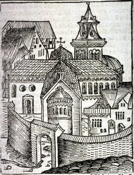 [Fortified city], from the Nuremberg Chronicle