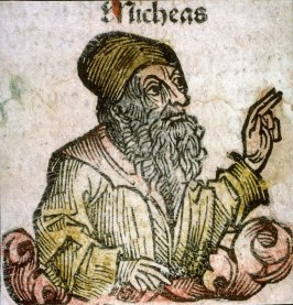 [Micheas], from the Nuremberg Chronicle