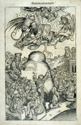 The Apocalypse, f. CCLXII of the book the Nuremberg Chronicle (Liber chronicarum) ([Nuremberg: Anton Koberger, 1493])
