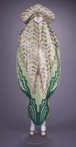 From the Seven Ray series: Yellow and Green Ray Dress and Headdress