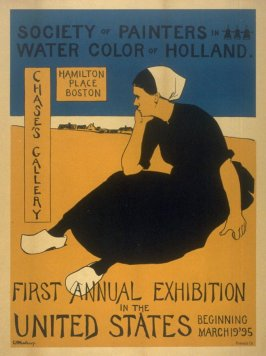 Society of Painters/ Watercolors of Holland. Chasse's Gallery, Boston. 1895