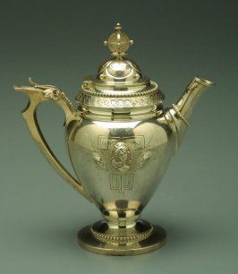 Teapot with Hinged Lid