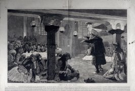 A meeting of the Albanian League - from Harper's Weekly, (April 24, 1880), pp. 264-265.