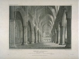 Exeter Cathedral, Nave looking East