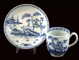 Tea bowl, cup and saucer