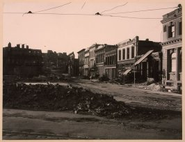 Montgomery Street North from Washington, May 1906. A Number of Buildings in This, the Present Jackson Square Area, Escaped the Great Fire