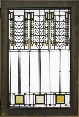 Tree of Life Window from the Darwin D. Martin House, Buffalo, New York