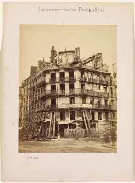 Rue de Rivoli, from the series Insurrection de Paris, 1871 (Paris Insurrection, 1871)