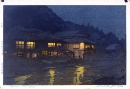 Evening in a Hot Spring