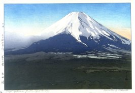 Mount Fuji from Yoshida