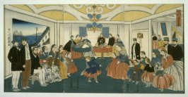 Banquet and Musicale in a Foreigner's Home