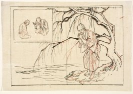 Untitled (Standing Man under a Tree, Praying)
