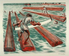 "Lumber Workers from ""Mexican People"" portfolio"