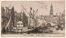 The Rokin and the Bourse in Amsterdam