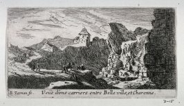 View of a Quarry between Belleville and Charonne, northeast of Paris