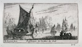 Fishing Boats on the 'Zuiderzee'