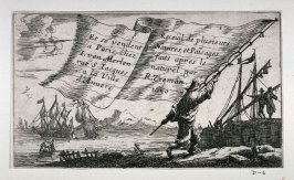 Sailor Walking with a Large Flag, title page