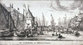 The Gelderse Quay and the Schreiers Tower, Amsterdam