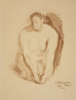 Untitled (Kneeling Nude)