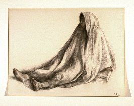 Seated Woman with Shawl