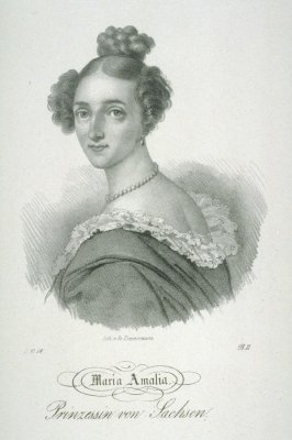 Maria Amalia, Princess of Saxony