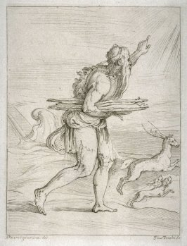 Eneas (?), after Parmigianino