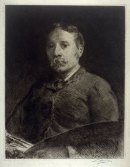 Portrait of Anders Zorn (?)