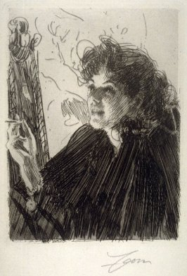 Girl with a Cigarette II