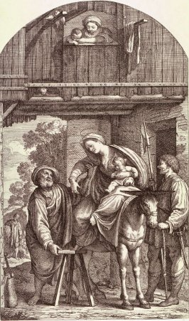The Return of the Holy Family from Egypt, after Giovanni di S. Giovanni