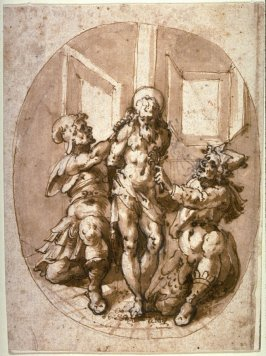 Torture of a Saint with Hooks