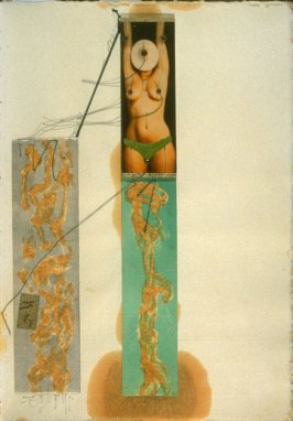 p. (38), book Untitled (sketchbook of drawings, collages, etc.)