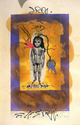 p. (16), book Untitled (sketchbook of drawings, collages, etc.)