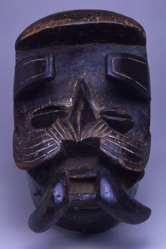 Ceremonial face mask