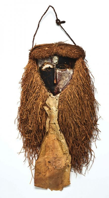 Fang Mask with fiber beard
