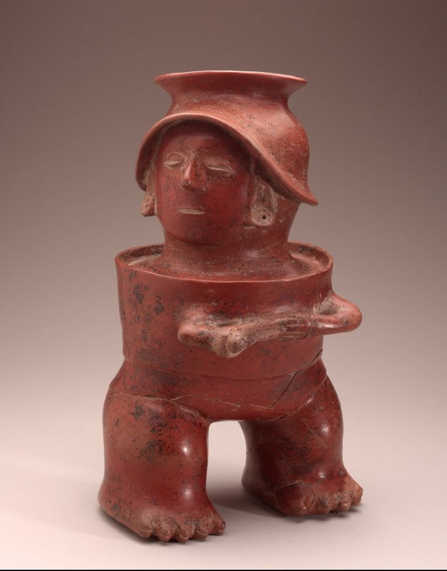 Standing Male Figure with Sling